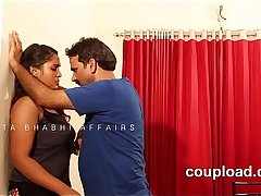 Telugu desi young girl  trapped by neighbour