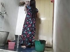 Cute Next Door Indian Girl Filmed While In Shower