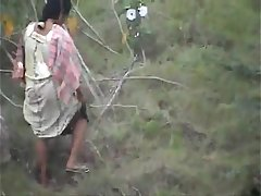 Outdoor Indian Village Bhabhi Open Pee